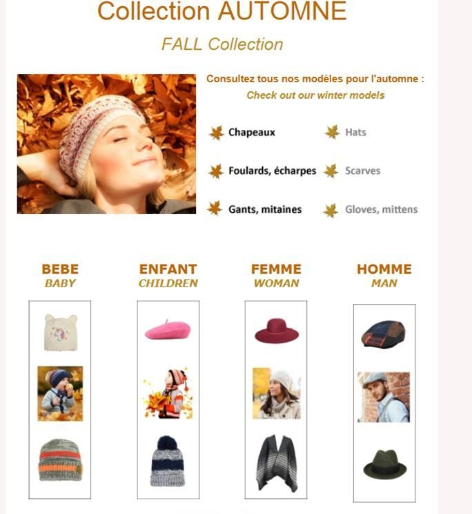 emailing catalogue